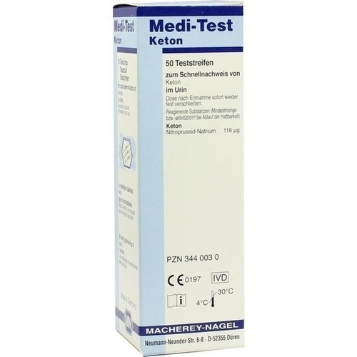 MEDI TEST KETON, 50 ST, Macherey-Nagel GmbH & Co. KG