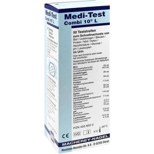 MEDI TEST NITRIT, 50 ST, Macherey-Nagel GmbH & Co. KG
