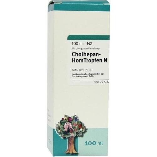 Cholhepan-HomTropfen N, 100 ML, Schuck GmbH Arzneimittelfabrik