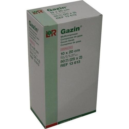 Gazin Kompresse 10x20cm 8fach steril, 25X2 ST, Lohmann & Rauscher GmbH & Co. KG
