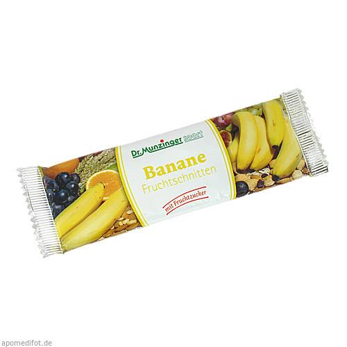 DR. MUNZINGER Bananen Fruchtschnitten, 50 G, Dr.Munzinger Sport GmbH & Co. KG