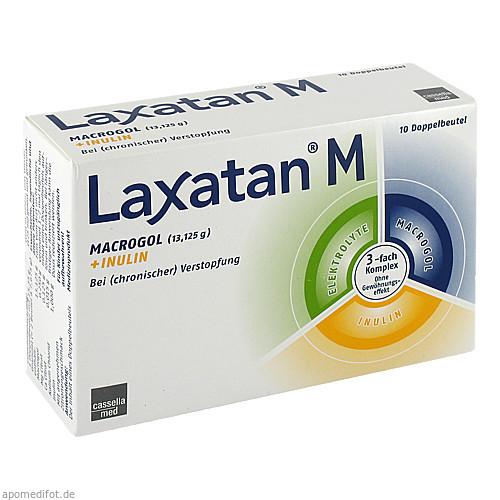 Laxatan M Granulat, 10 ST, MCM KLOSTERFRAU Vertr. GmbH