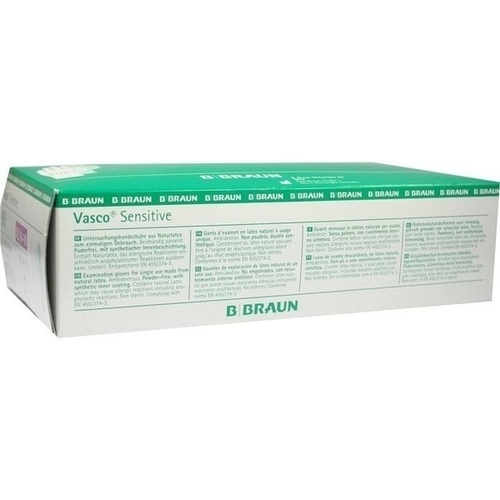 Vasco Sensitive UH XL, 90 ST, B. Braun Melsungen AG
