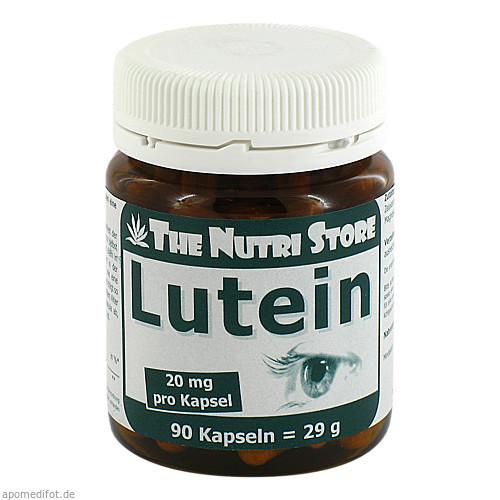 Lutein 20mg, 90 ST, Hirundo Products