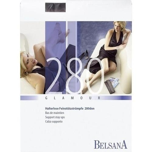 BELSANA 280den glamo AG SpHB L schw+Weite lang MSP, 2 ST, Belsana Medizinische Erzeugnisse