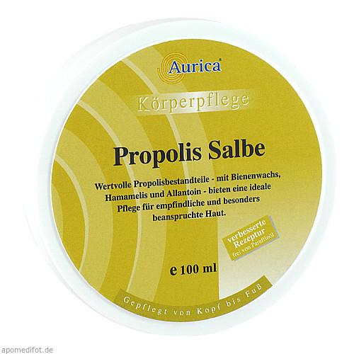 PROPOLIS SALBE AURICA, 100 ML, AURICA Naturheilmittel und Naturwaren GmbH