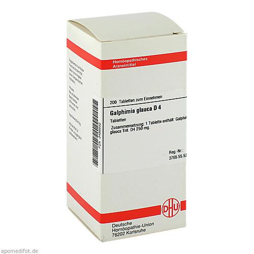 GALPHIMIA GLAUCA D 4, 200 ST, Dhu-Arzneimittel GmbH & Co. KG