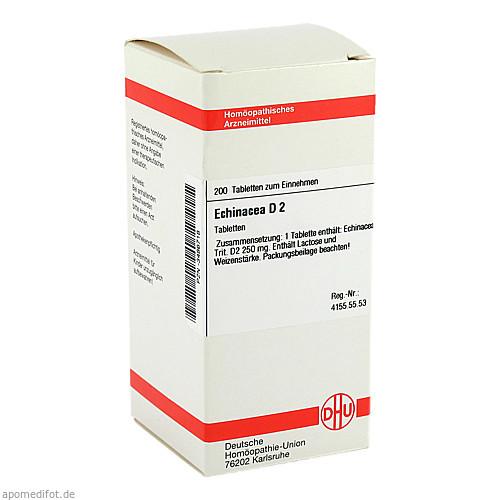 Echinacea (HAB) D 2, 200 ST, Dhu-Arzneimittel GmbH & Co. KG