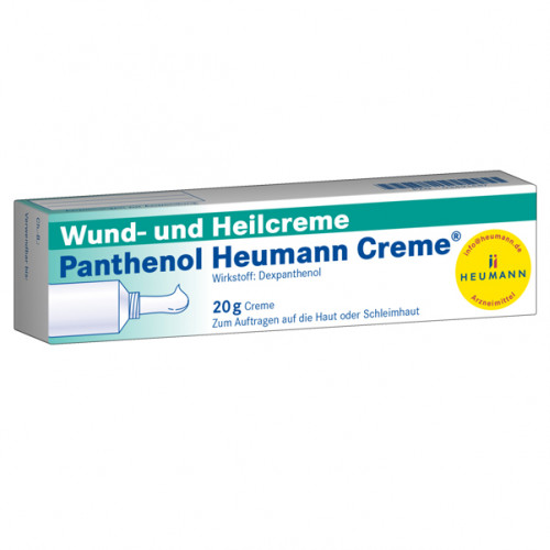 Panthenol Heumann Creme, 20 G, Heumann Pharma GmbH & Co. Generica KG