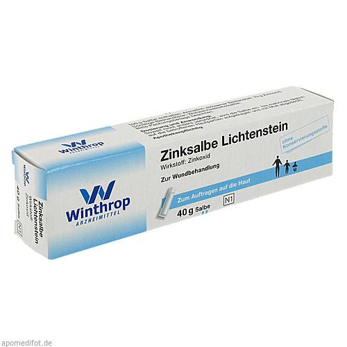 ZINKSALBE LICHTENSTEIN, 40 G, Zentiva Pharma GmbH