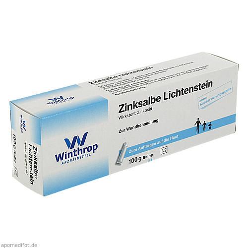 ZINKSALBE LICHTENSTEIN, 100 G, Zentiva Pharma GmbH