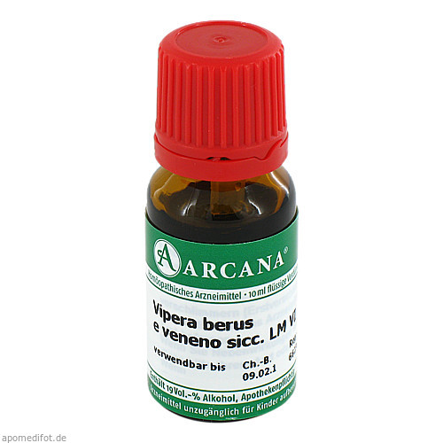 VIPERA BERUS ARCA LM 6, 10 ML, Arcana Arzneimittel-Herstellung Dr. Sewerin GmbH & Co. KG