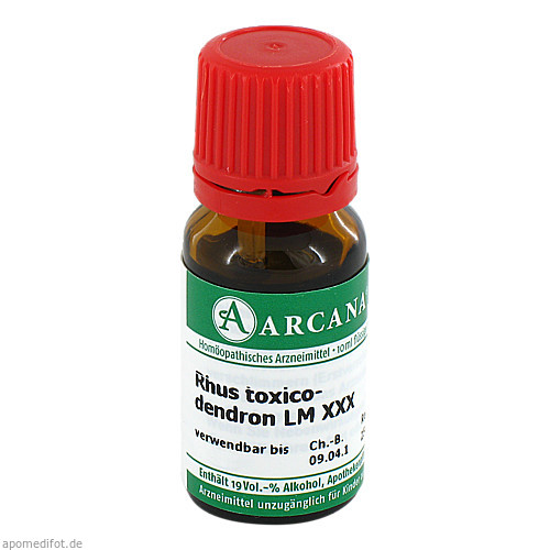 RHUS TOXICODENDRON LM 30, 10 ML, ARCANA Dr. Sewerin GmbH & Co. KG