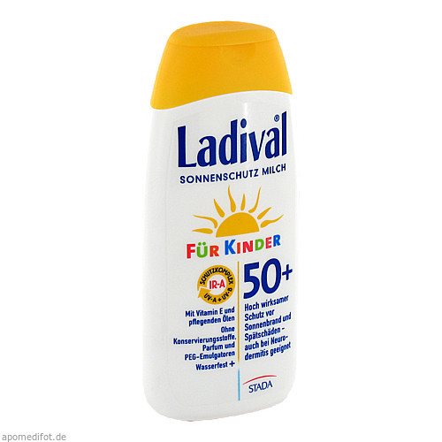 Ladival Kinder Sonnenmilch LSF50+, 200 ML, STADA GmbH