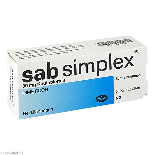 SAB SIMPLEX, 50 ST, Pfizer Pharma PFE GmbH
