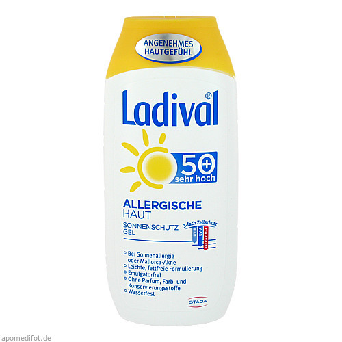 Ladival allerg. Haut Gel LSF50+, 200 ML, STADA GmbH