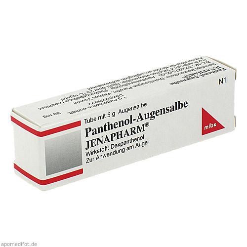 Panthenol-Augensalbe JENAPHARM, 5 G, Mibe GmbH Arzneimittel