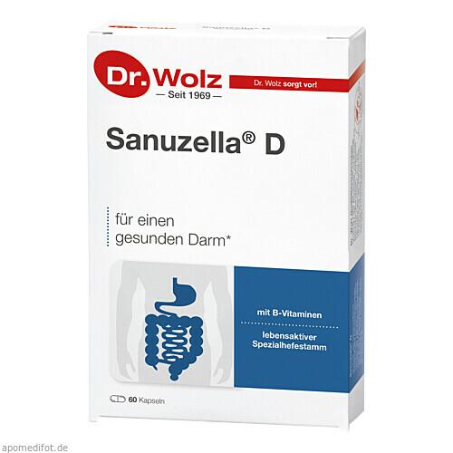 SANUZELLA D Zellulosekapsel, 60 ST, Dr. Wolz Zell GmbH