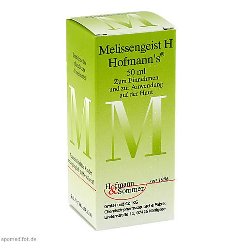 Melissengeist H Hofmann's, 50 ML, Hofmann & Sommer GmbH & Co. KG