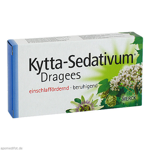 Kytta-Sedativum Dragees, 40 ST, Merck Selbstmedikation GmbH