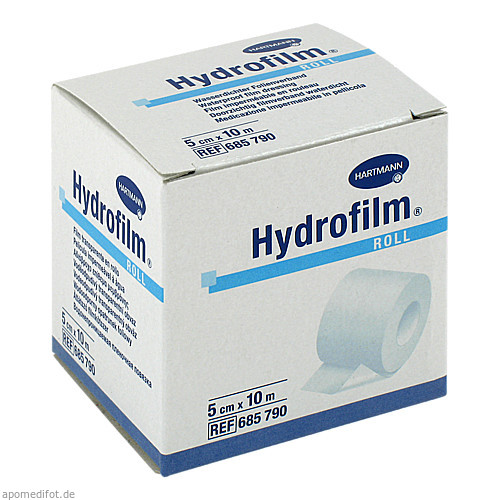Hydrofilm roll wasserdichter Folienverband 5cmx10m, 1 ST, Paul Hartmann AG
