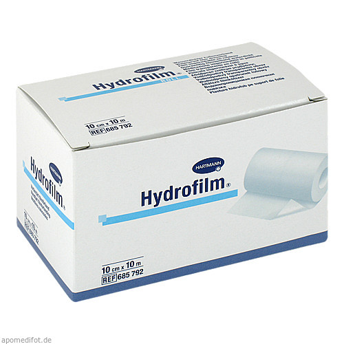 Hydrofilm roll wasserdichter Folienverband10cmx10m, 1 ST, Paul Hartmann AG