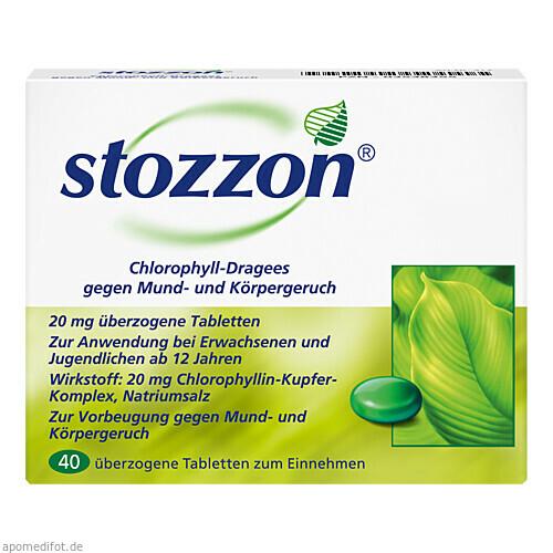 STOZZON CHLOROPHYLL, 40 ST, Queisser Pharma GmbH & Co. KG