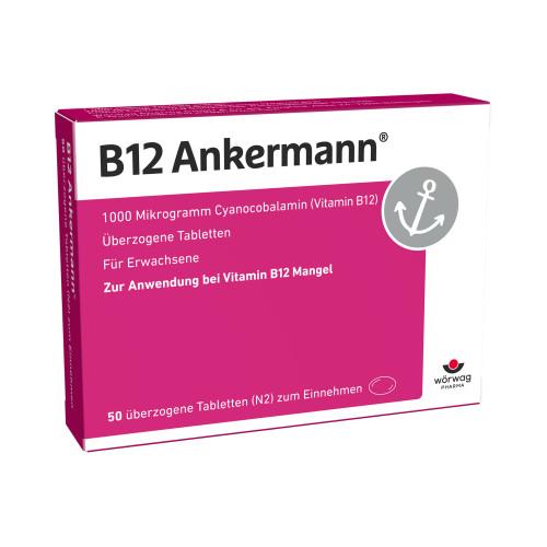 B12 ANKERMANN, 50 ST, Wörwag Pharma GmbH & Co. KG