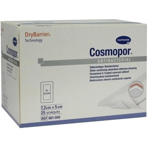 COSMOPOR Antibacterial 5x7,2 cm, 25 ST, Paul Hartmann AG