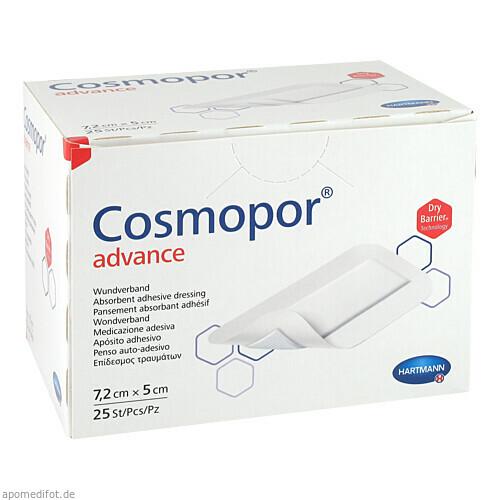 Cosmopor Advance 7.2x5cm, 25 ST, Paul Hartmann AG