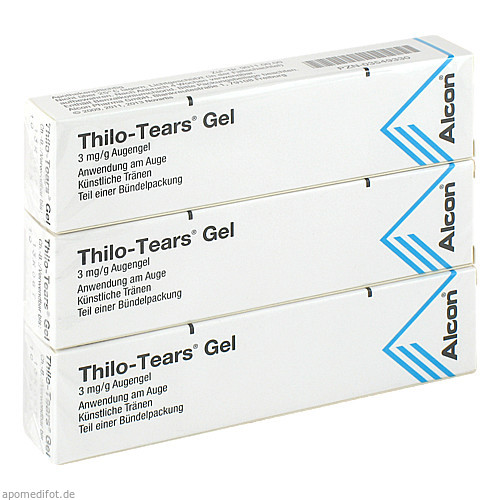 THILO TEARS, 3X10 G, Alcon Pharma GmbH