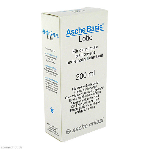 ASCHE BASIS LOTIO, 200 ML, Chiesi GmbH