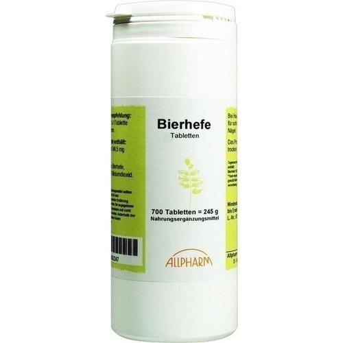 BIERHEFE TABLETTEN, 250 G, Allpharm Vertriebs GmbH