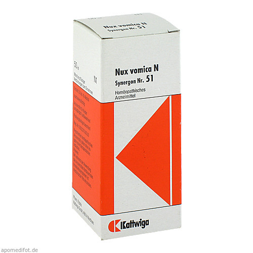 SYNERGON KOMPL NUX VOM N51, 50 ML, Kattwiga Arzneimittel GmbH