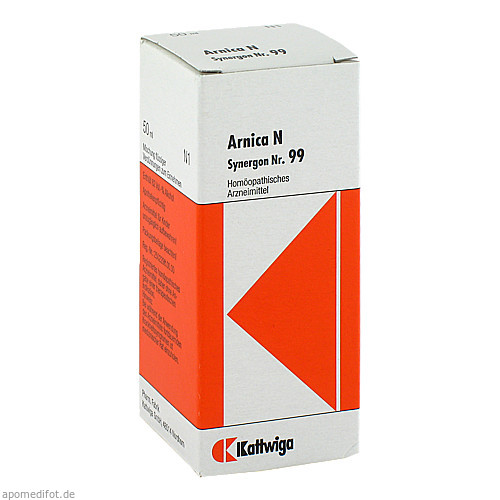 SYNERGON KOMPL ARNICA N 99, 50 ML, Kattwiga Arzneimittel GmbH