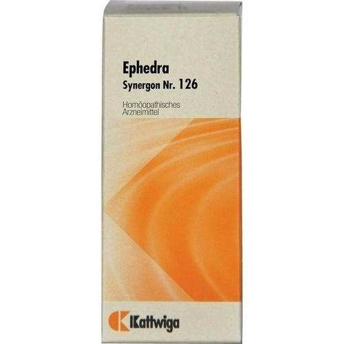 SYNERGON KOMPL EPHEDRA 126, 20 ML, Kattwiga Arzneimittel GmbH