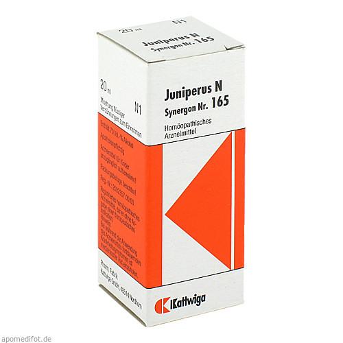 SYNERGON KOMPL JUNIP N 165, 20 ML, Kattwiga Arzneimittel GmbH