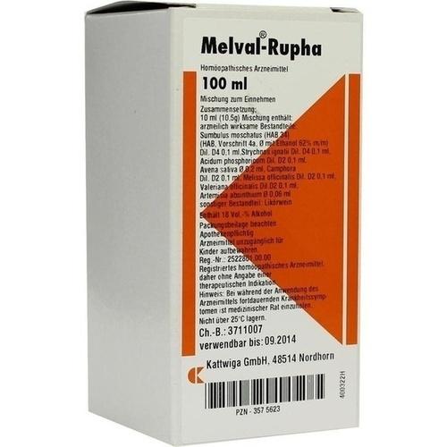 MELVAL Rupha Liquidum, 100 ML, Kattwiga Arzneimittel GmbH