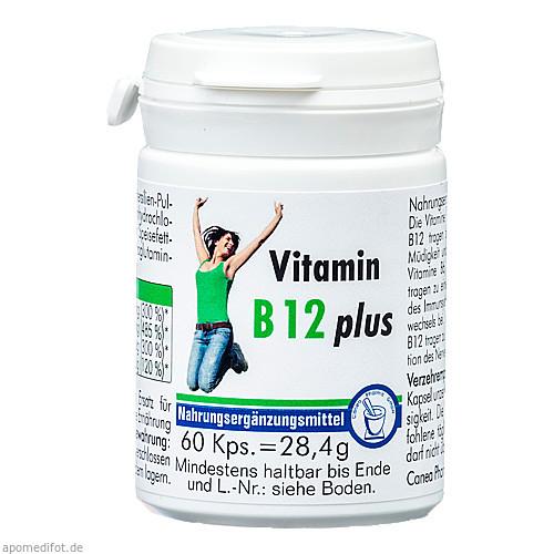 Vitamin B 12 plus, 60 ST, Pharma Peter GmbH