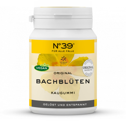 NOTFALL Kaugummi nach Dr. Bach, 40 ST, Lemon Pharma GmbH & Co. KG