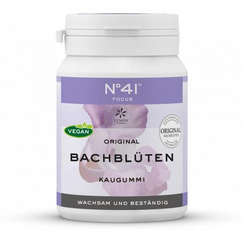 KONZENTRATION Kaugummi nach Dr. Bach, 40 ST, Lemon Pharma GmbH & Co. KG