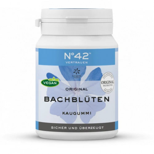 SELBSTVERTRAUEN Kaugummi nach Dr. Bach, 40 ST, Lemon Pharma GmbH & Co. KG