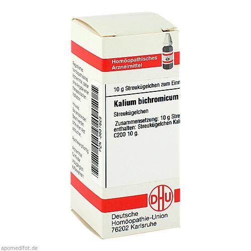 KALIUM BICHROM C200, 10 G, Dhu-Arzneimittel GmbH & Co. KG