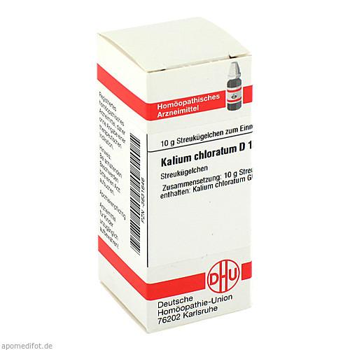 KALIUM CHLORAT D12, 10 G, Dhu-Arzneimittel GmbH & Co. KG