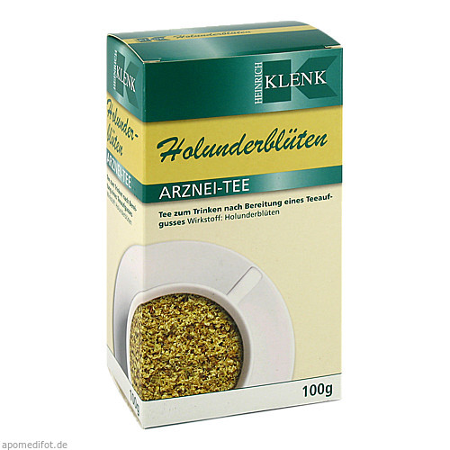 HOLUNDERBLUETEN, 100 G, Heinrich Klenk GmbH & Co. KG