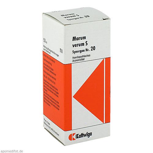 Synergon Kompl Marum verum S Nr.20, 50 ML, Kattwiga Arzneimittel GmbH