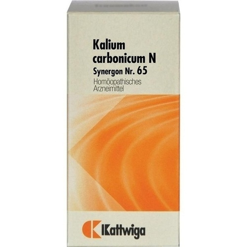 Synergon Kompl Kalium carbonicum N Nr.65, 100 ST, Kattwiga Arzneimittel GmbH
