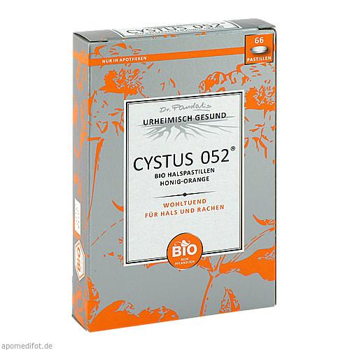 Cystus 052 Bio Halspastillen Honig-Orange, 66 ST, Dr. Pandalis