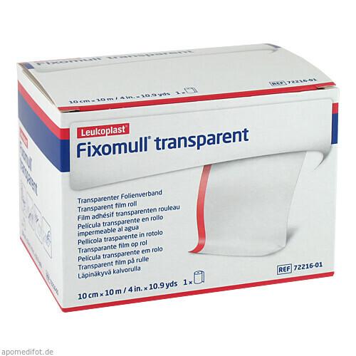 Fixomull transparent 10mx10cm, 1 ST, Bsn Medical GmbH