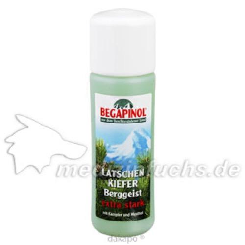 Begapinol Latschenkiefer Berggeist Extra Stark, 500 ML, Begapinol Dr.Schmidt GmbH